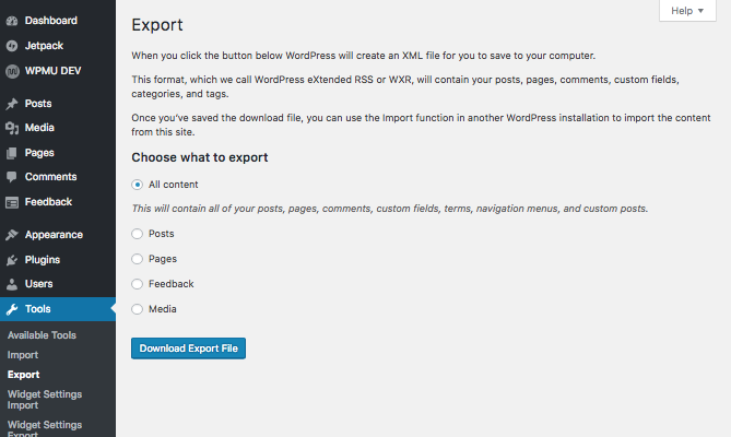 Exporting WordPress Site.png