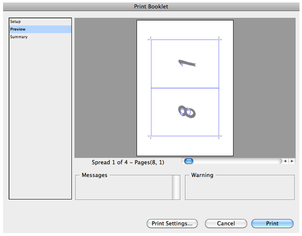 Create a booklet in indesign cc
