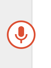 Image of Voice Typing Record Enabled in Google Docs.
