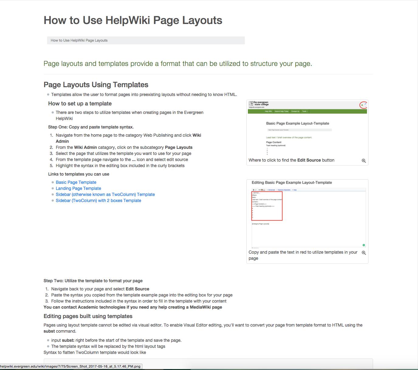 Wiki Layout Templates Yolarnetonic
