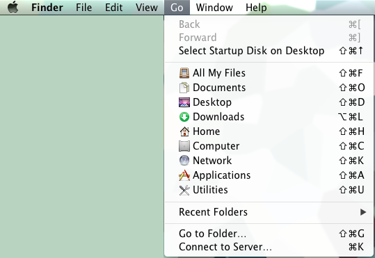 Connect to Filespace - Mac OS X - Help Wiki