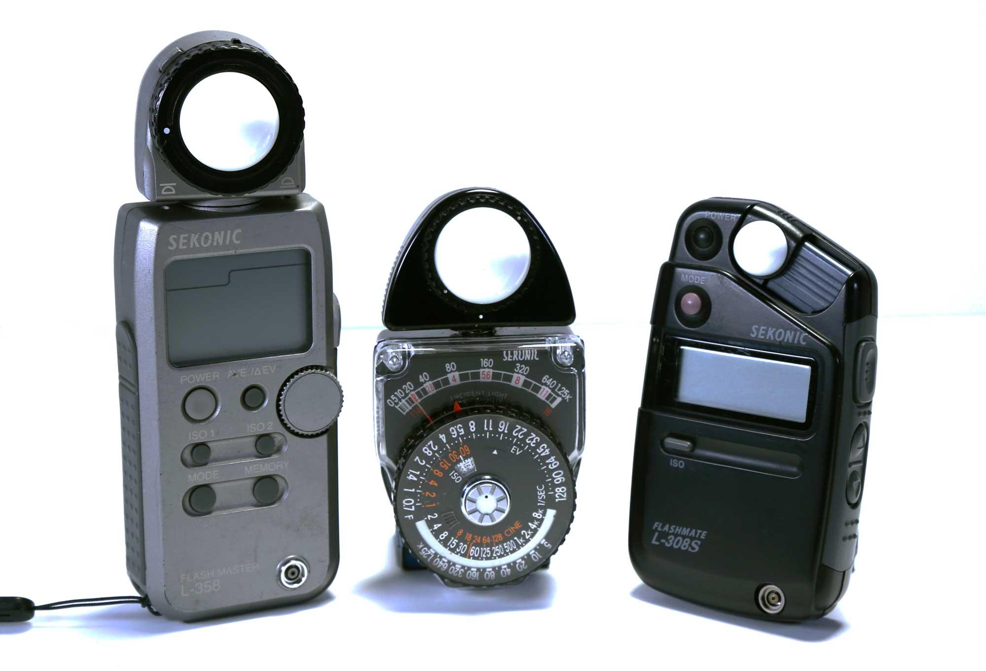 light meter camera