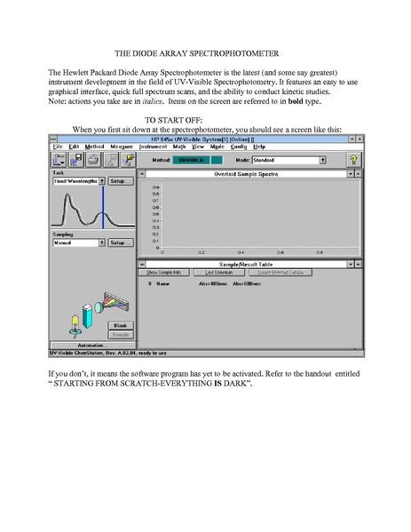 Filehp 8453 Diode Array Instructionspdf Help Wiki