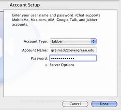 IChat for Mac OS X - Help Wiki